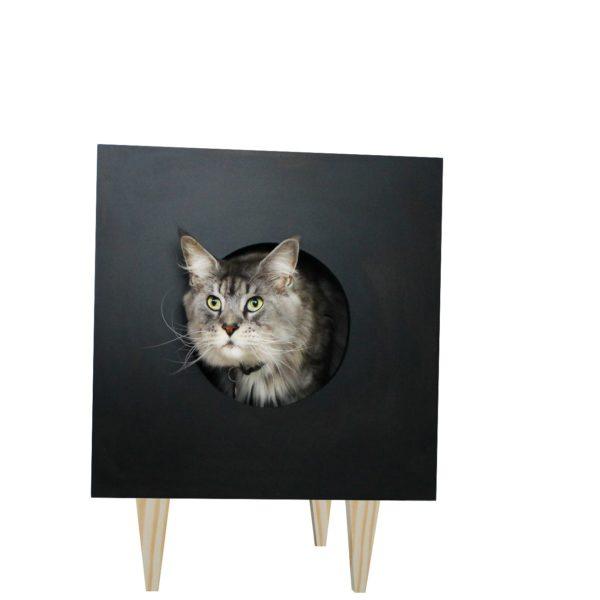mesa cabeceira preta
