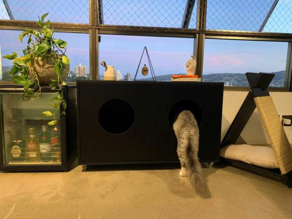 Comprar Banheiro para Gatos Duplo