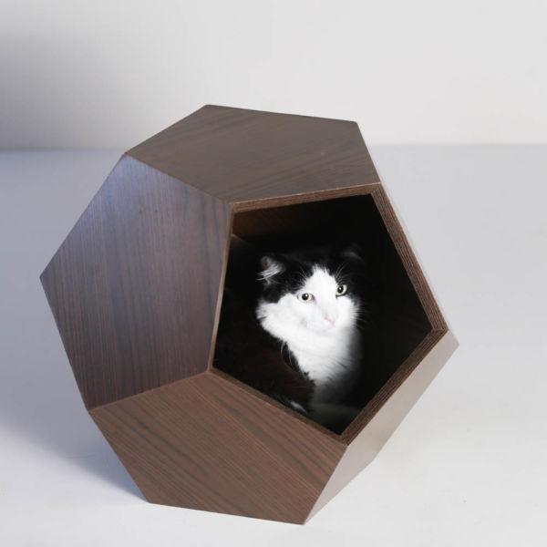 Comprar Casinha para gato Oca Pentagocat